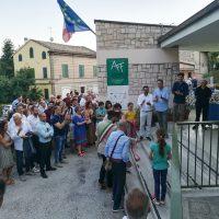 1_ Inaugurazione Mostre fotografiche Fratello lupo di Maurizio Biancarelli e Appenninotturno di Diaframmazero