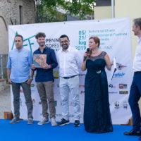 1_ Inaugurazione, Photonica3 con l'editore Simone Giaconi