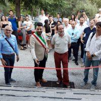 1_ Inaugurazione della mostra Fratello lupo di Maurizio Biancarelli con Fabiano Ventura