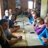 4_Pranzo al Rifugio dell Fargno durante il workshop sui Monti Azzurri con Maurizio Biancarelli