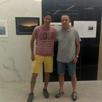 7_Fabiano Ventura in visita alla mostra Secondo natura di Ph3