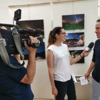7_Intervista Rai sulla mostra Appenninotturno a cura del fotoclub Diaframmazero